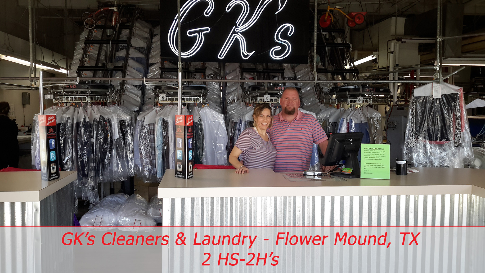 GK's Cleaners & Laundry